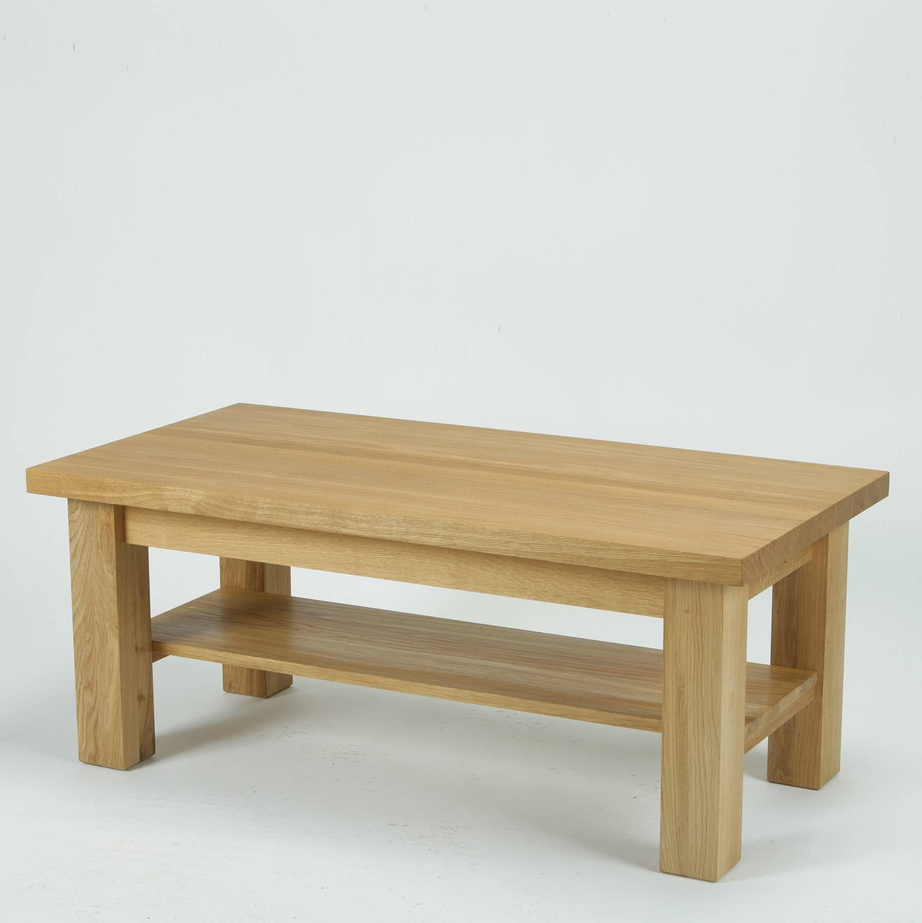 Torino Solid Oak 4Ft Coffee Table | Furniture4Yourhome inside Torino Coffee Tables (Image 25 of 30)
