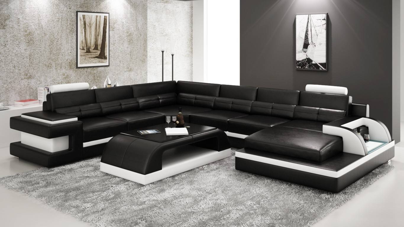 Toronto Sectional Sofa From Opulent Items Ihso01269 pertaining to Leather Sectional Sofas Toronto (Image 20 of 25)