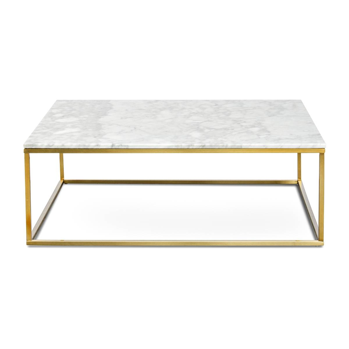 Toronto Square 100Cm White Marble Coffee Table | Interior Secrets with regard to White Marble Coffee Tables (Image 29 of 30)