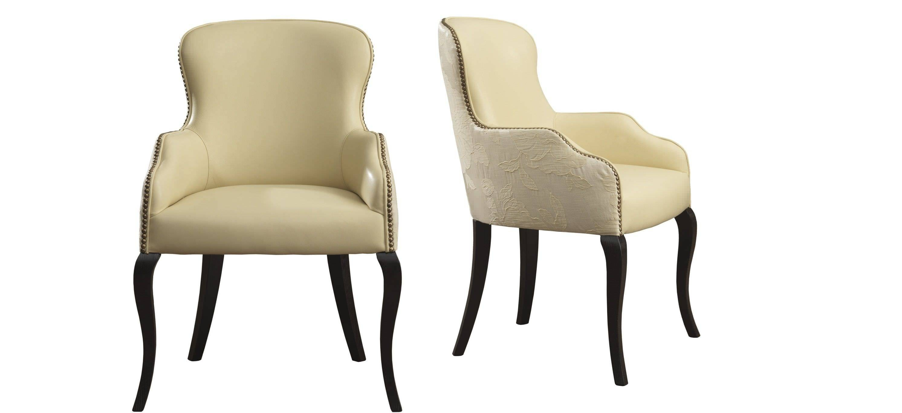 Traditional Armchair / Fabric - Carmenjoe Gentile - Galimberti with Small Armchairs (Image 30 of 30)