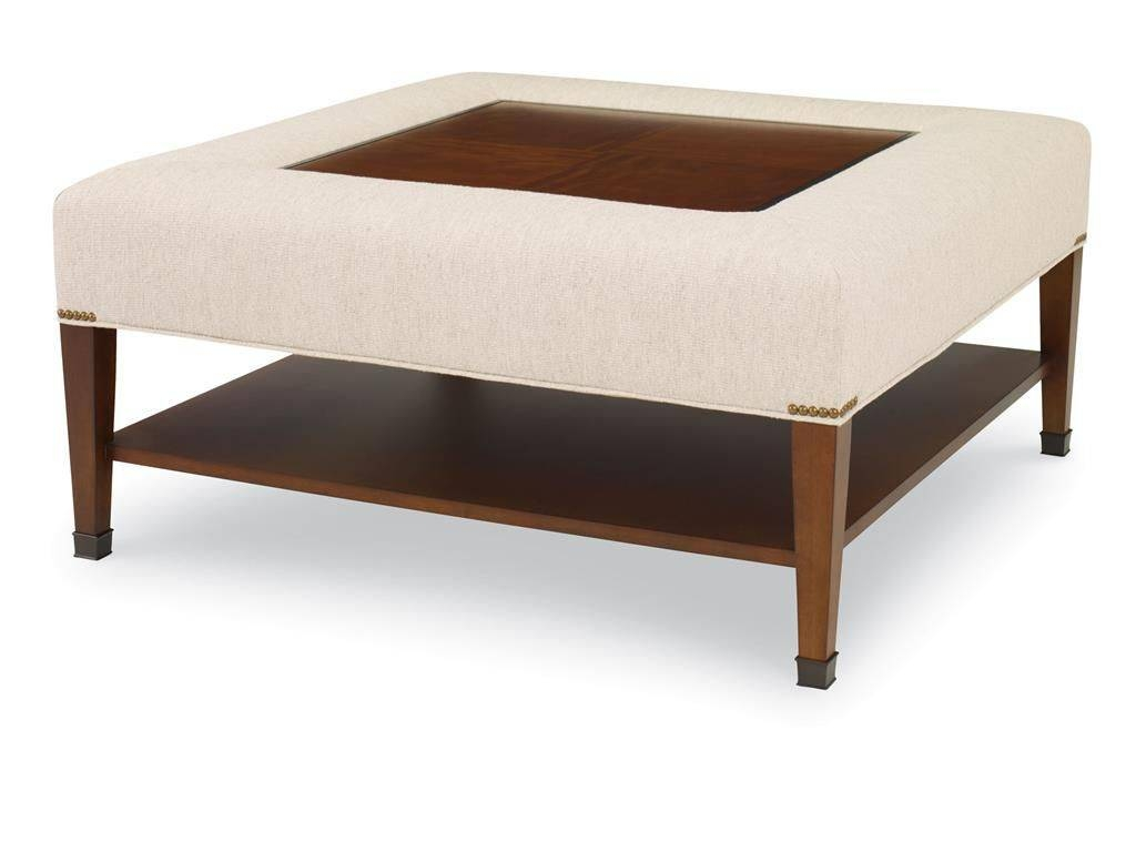 Traditional Coffee Table / Fabric / Ebony / Square - Sohoeric throughout Soho Coffee Tables (Image 30 of 30)