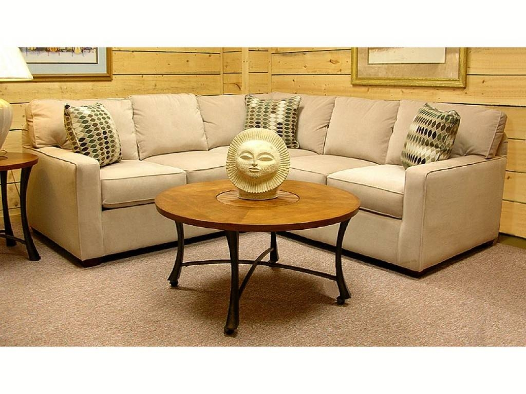 Traditional Design Living Room With Astounding Small Sectional intended for Gold Sectional Sofa (Image 23 of 25)