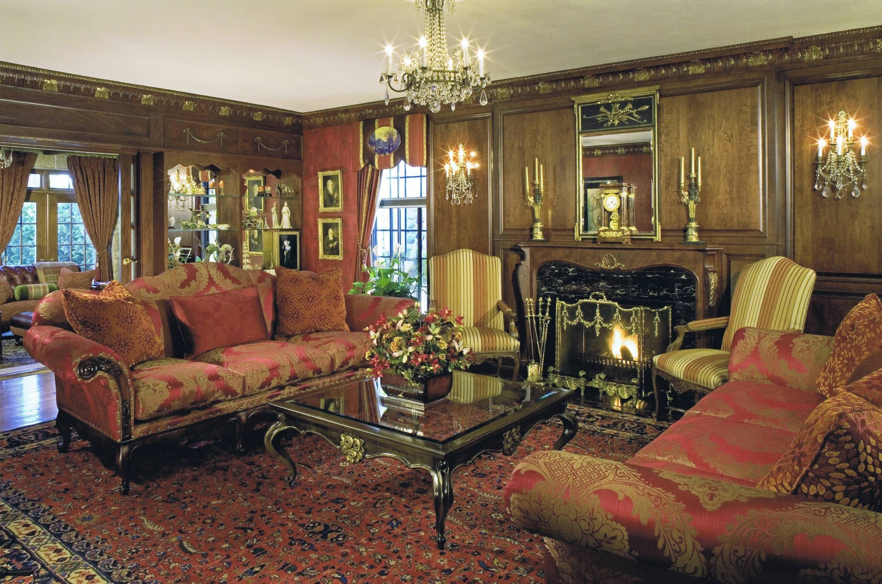 Traditional Living Room Furniture. Traditional 27 Fancy Living regarding Elegant Fabric Sofas (Image 27 of 30)