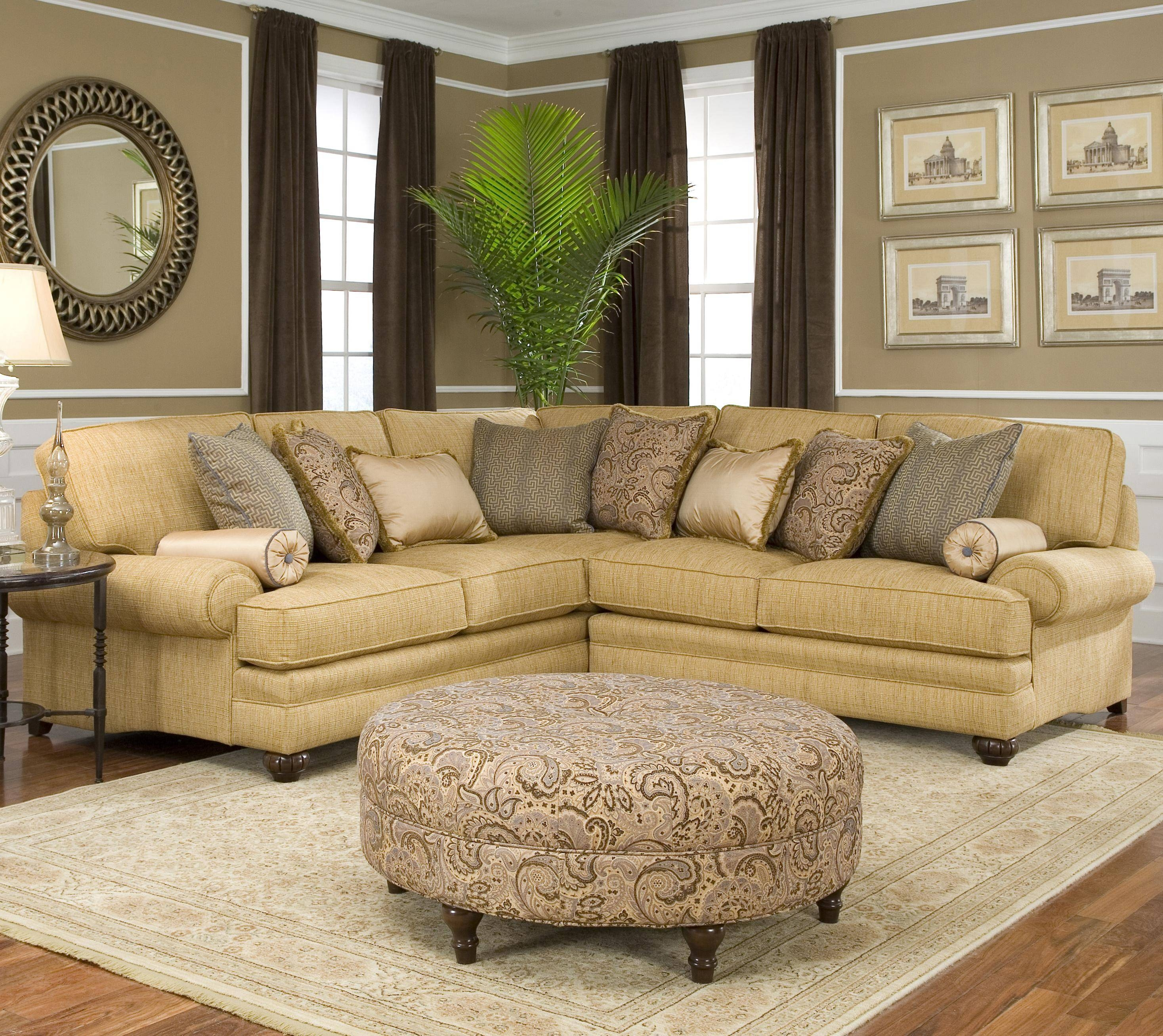 Traditional Sectional Sofas Living Room Furniture throughout Traditional Sectional Sofas Living Room Furniture (Image 22 of 25)