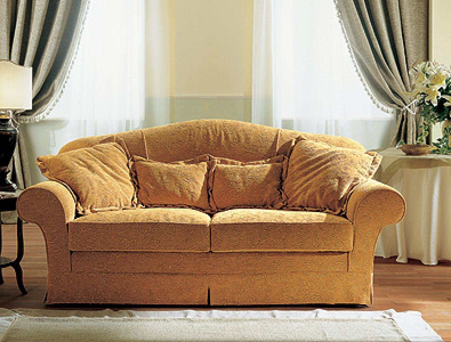 Traditional Sofa / Fabric / 2-Seater / White - Jois - Doimo Salotti within Traditional Fabric Sofas (Image 28 of 30)