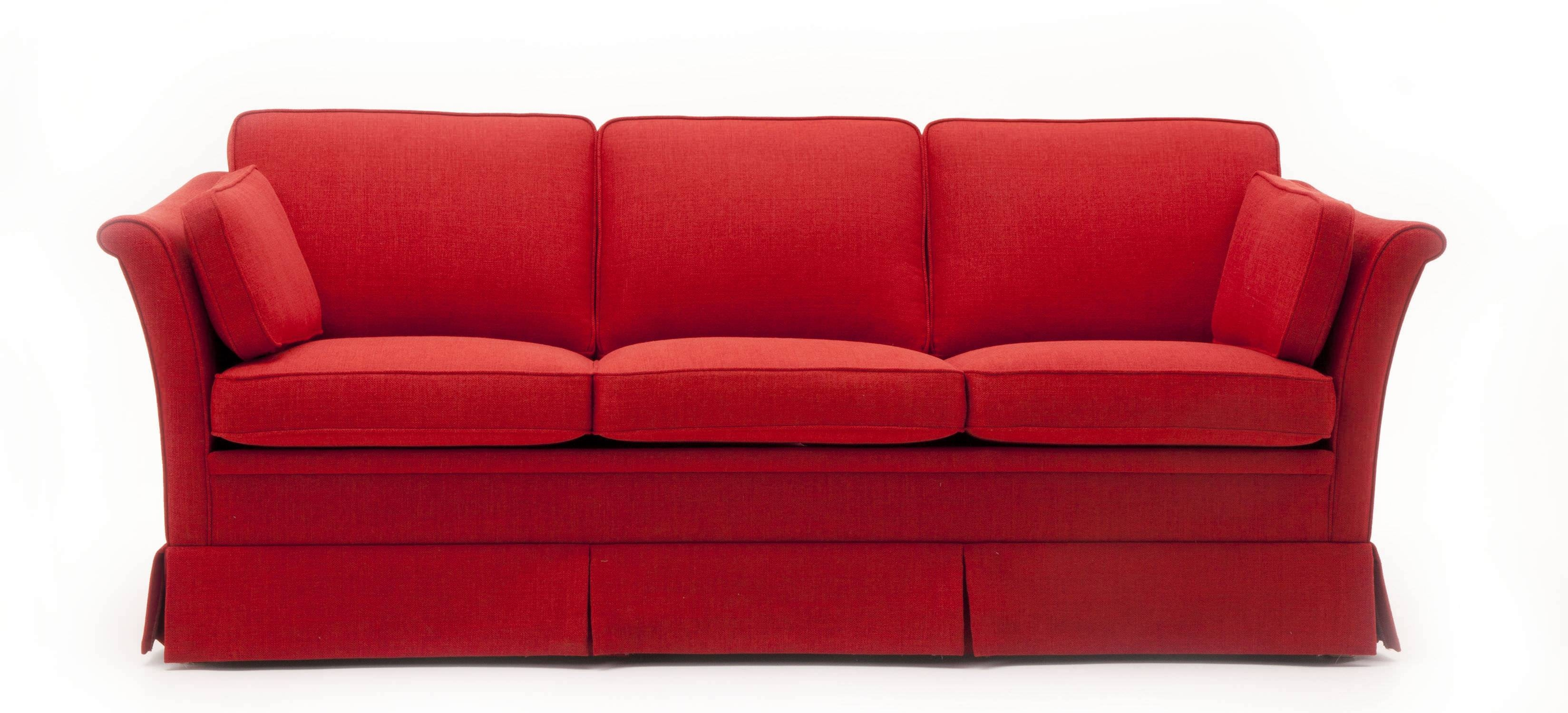 Traditional Sofa / Fabric / 3-Seater / With Removable Cover with Sofa With Removable Cover (Image 30 of 30)