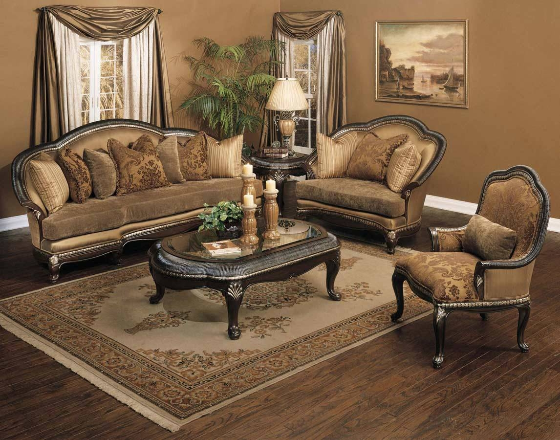 Traditional Sofas, Loveseats, Chairs, Sets & Sectionals with Traditional Fabric Sofas (Image 29 of 30)