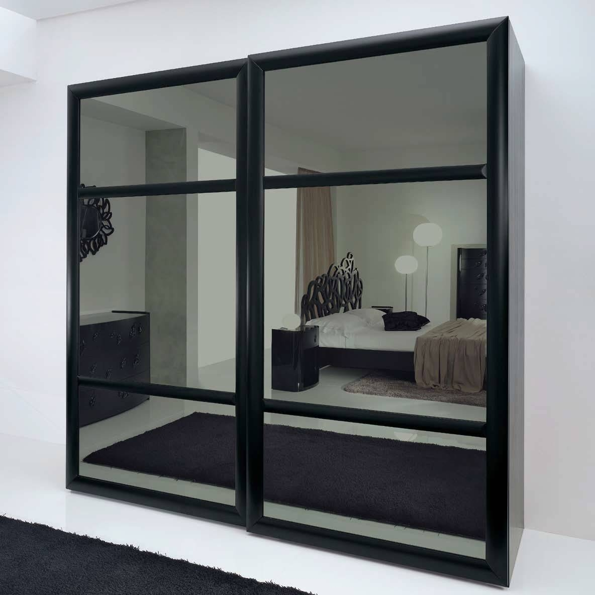 Traditional Wardrobe / Wooden / Sliding Door – Leaves – Bbelle For Black Wood Wardrobes (View 10 of 15)