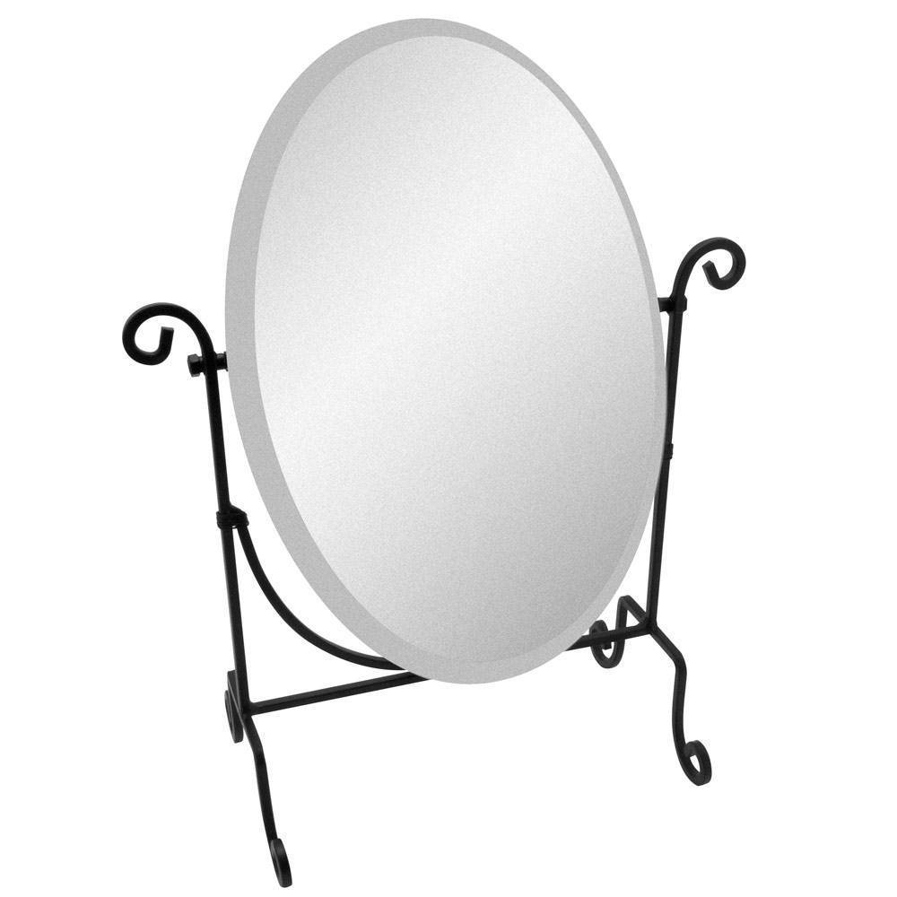 Travel Folding Mirror | Portable Mirrors | Display Mirrors pertaining to Wrought Iron Standing Mirrors (Image 14 of 25)