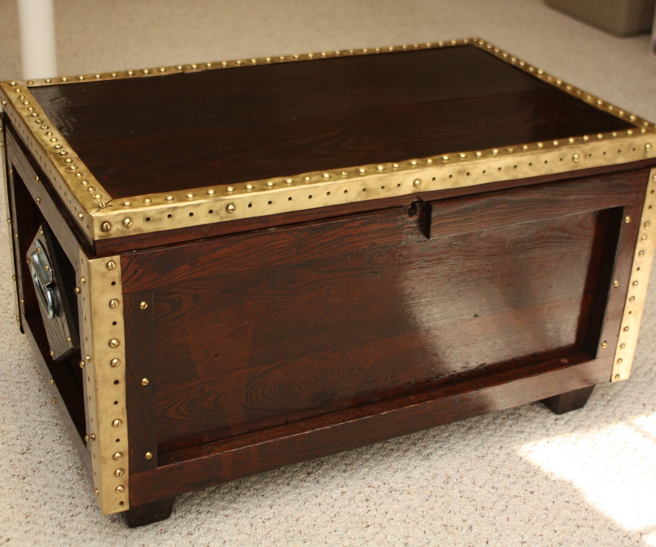 Treasure Chest Coffee Table Unique Square Coffee Table On Crate intended for Square Chest Coffee Tables (Image 27 of 30)