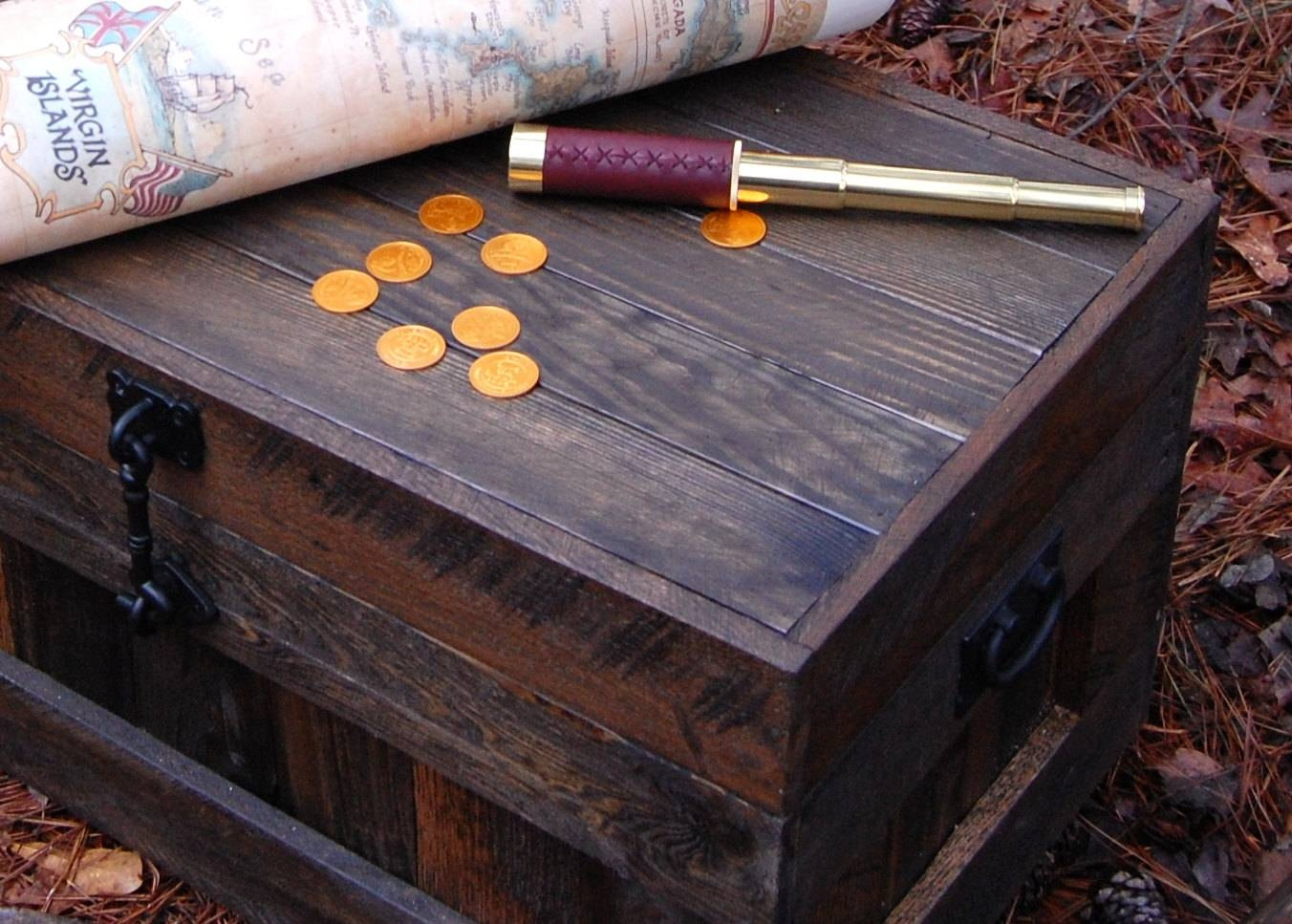 Treasure Chest / Toy Box / Hope Chest/ Coffee Table From - Jericho with Blanket Box Coffee Tables (Image 27 of 30)