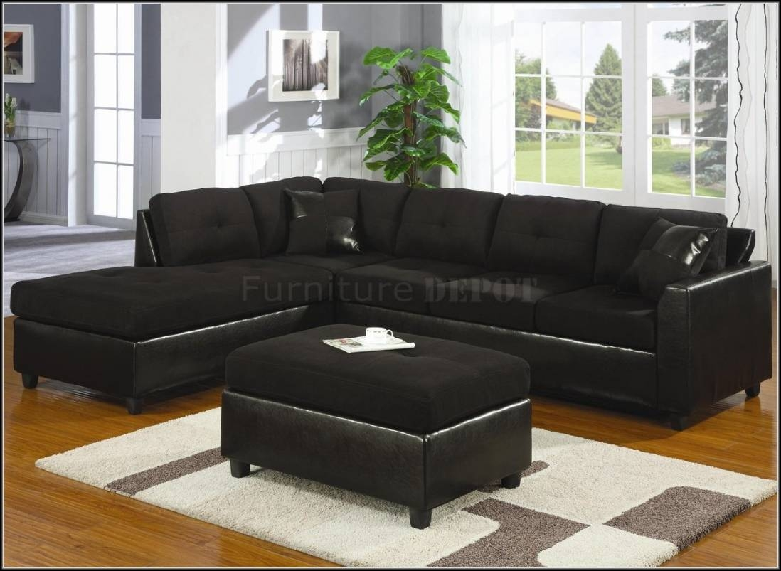 Trend Black Sectional Sofa 85 In Sofas And Couches Set With Black inside Sofa Trend (Image 22 of 25)