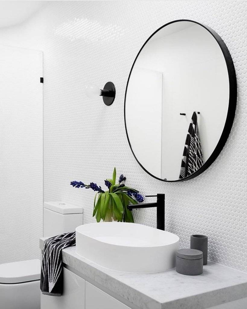 Trend | Round Mirrors And Yes, You Do Need One In Your Life Regarding Black Round Mirrors (View 24 of 25)