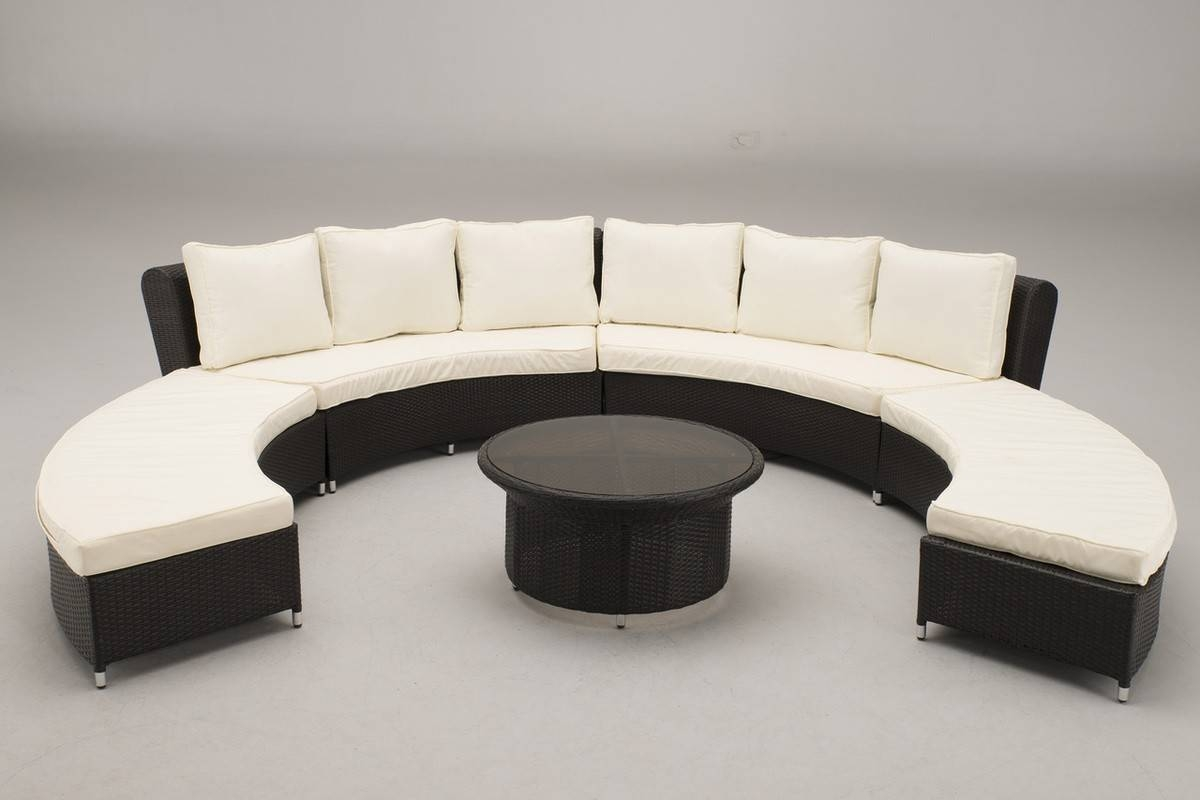 Trendy Circular Sofa For Elegant Decoration — Home Design regarding Circular Sofa Chairs (Image 29 of 30)