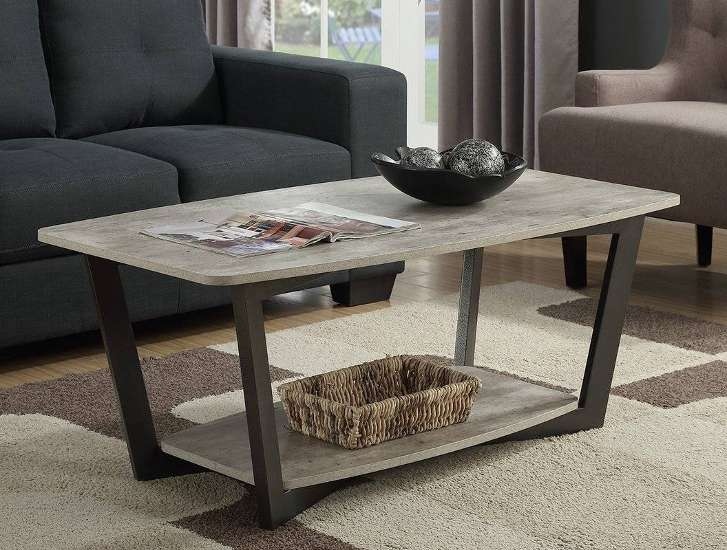 Trent Austin Design Anissa Coffee Table With Magazine Rack with Coffee Tables With Magazine Rack (Image 23 of 30)