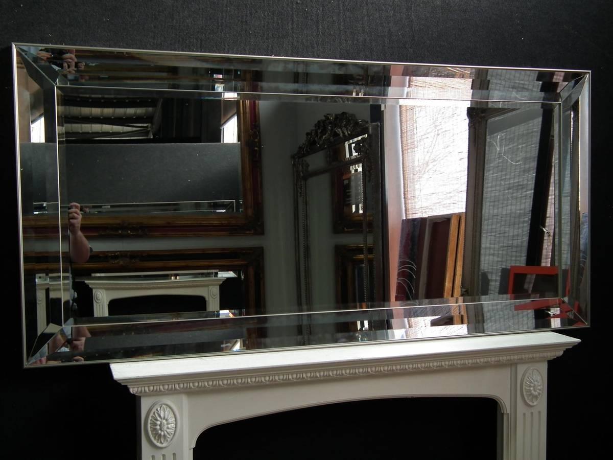 Triple Bevel Frame Large Leaner Venetian Mirror -Gl223 within Venetian Bevelled Mirrors (Image 20 of 25)