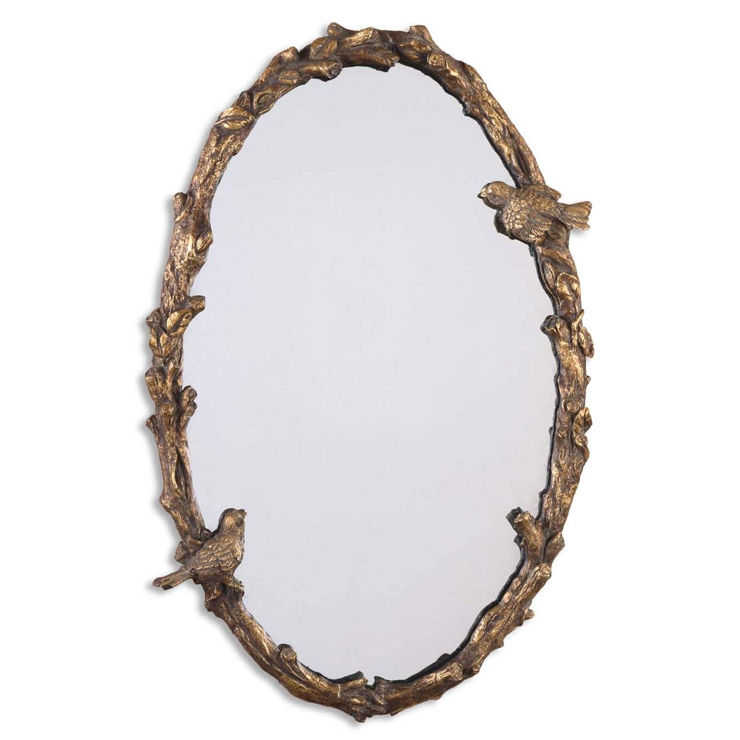 Triple Oval Gold Mirror Including Uttermost, Imax, Arteriors Home throughout Triple Oval Mirrors (Image 23 of 25)