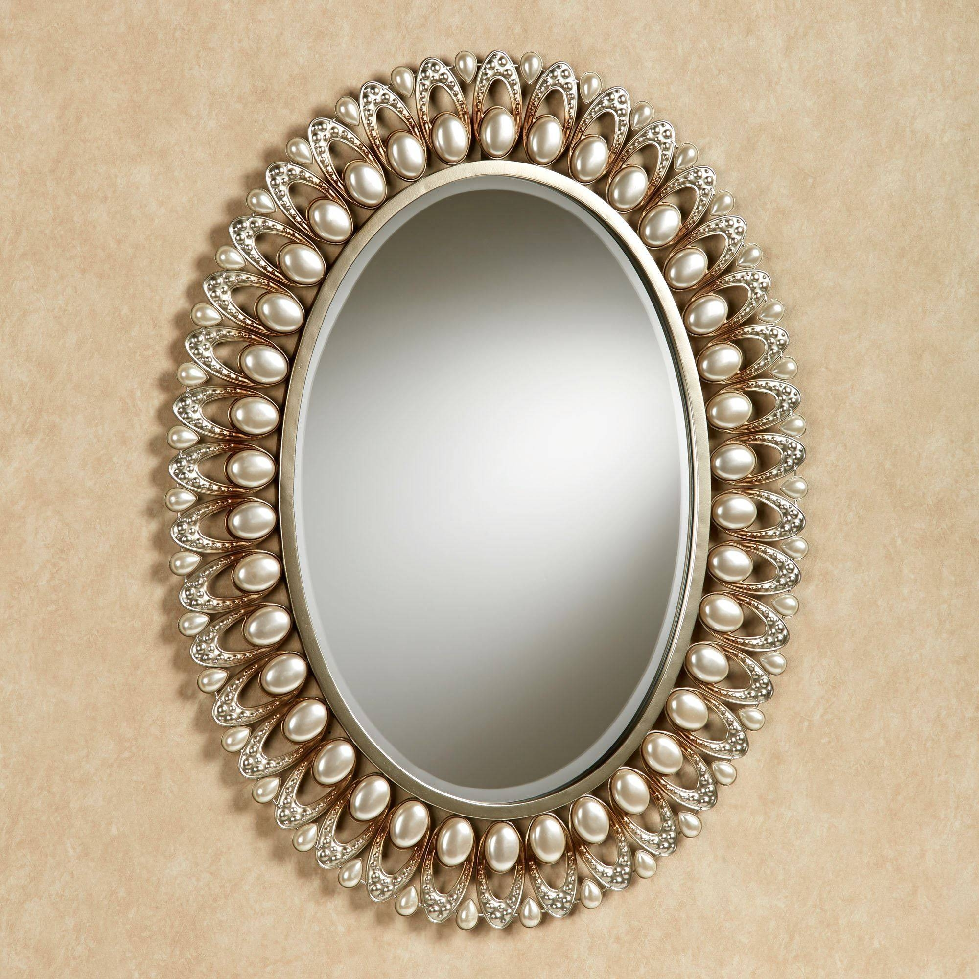 Triple Oval Wall Mirror - Oval Wall Mirror For The Elegant One To within Triple Oval Wall Mirrors (Image 24 of 25)