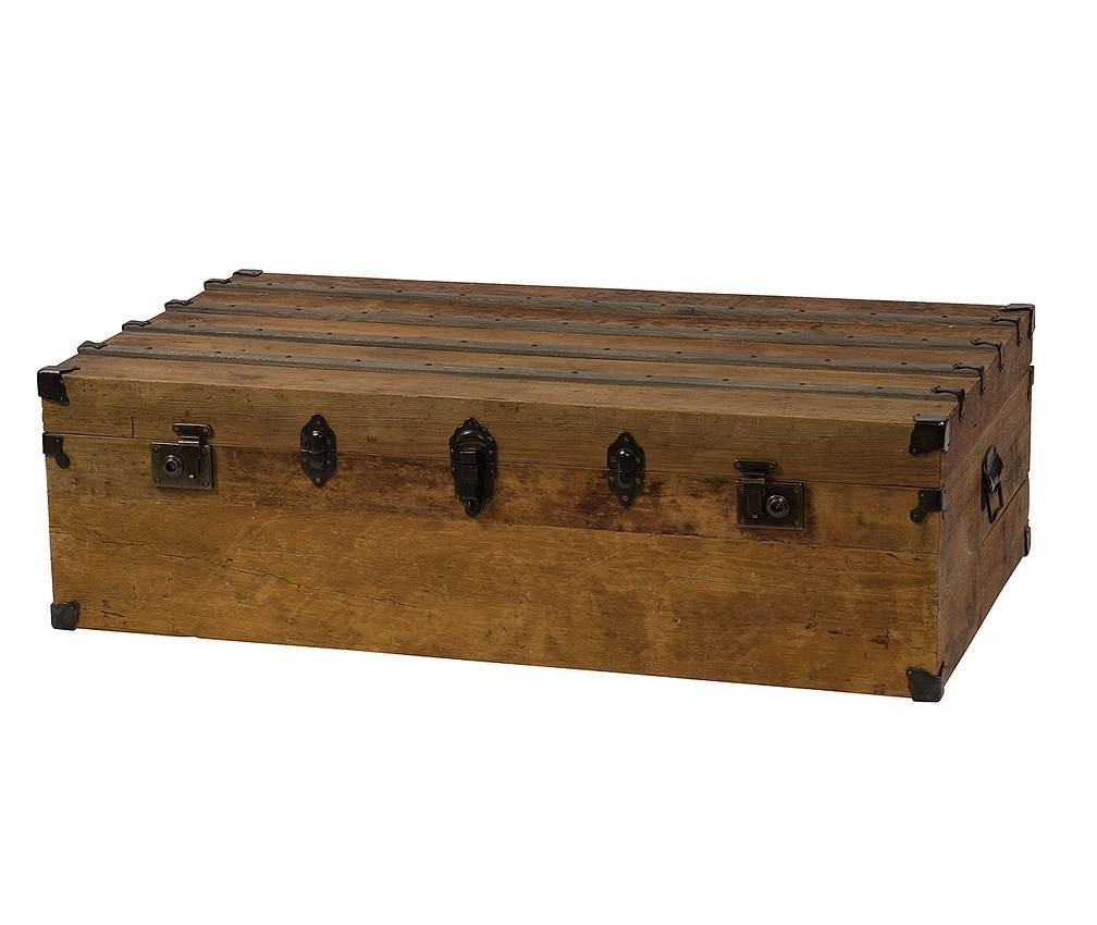 Trunk Chest Coffee Table: A Quirky Touch For The Living Room inside Quirky Coffee Tables (Image 25 of 30)