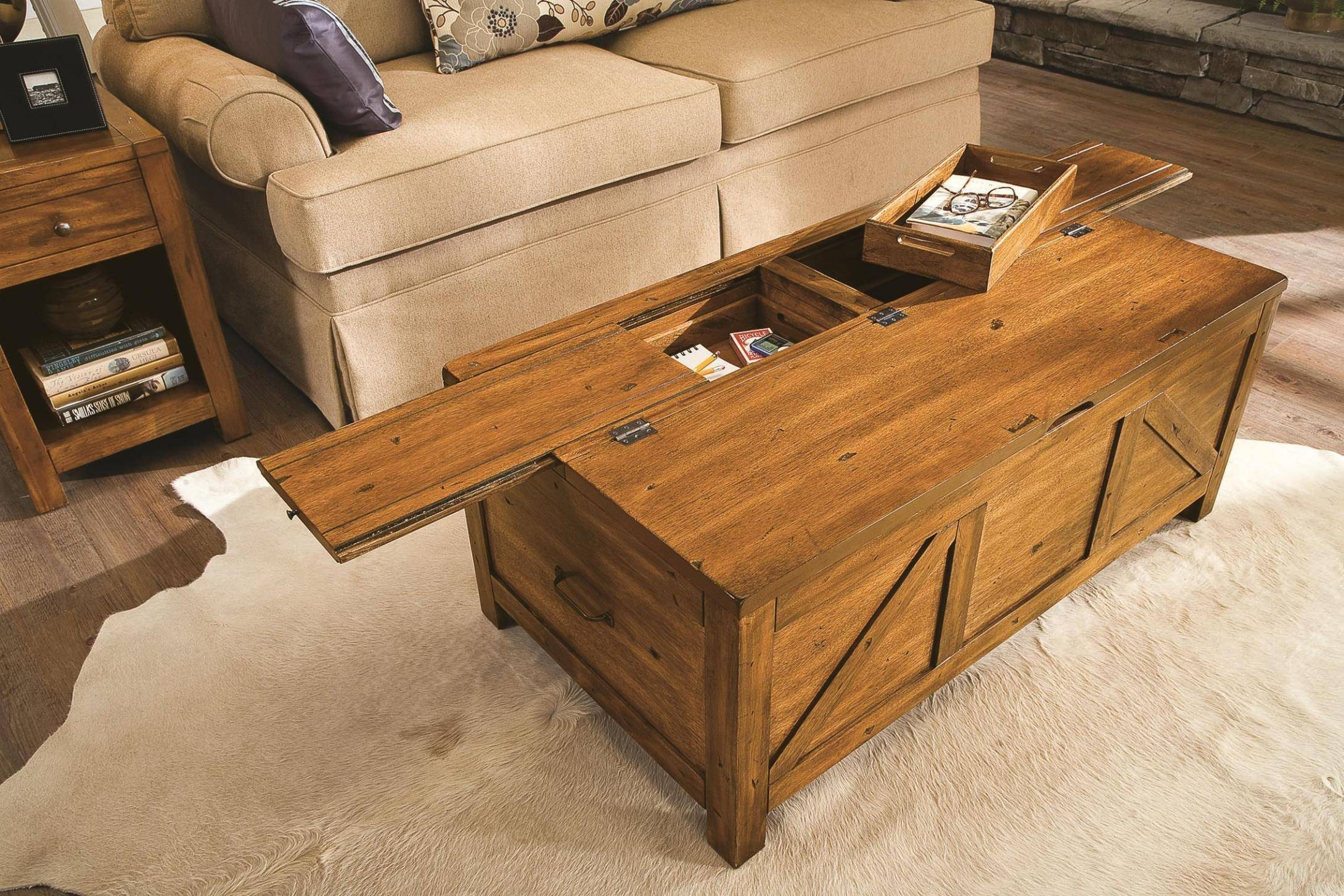 Best 30 of Storage Trunk Coffee Tables