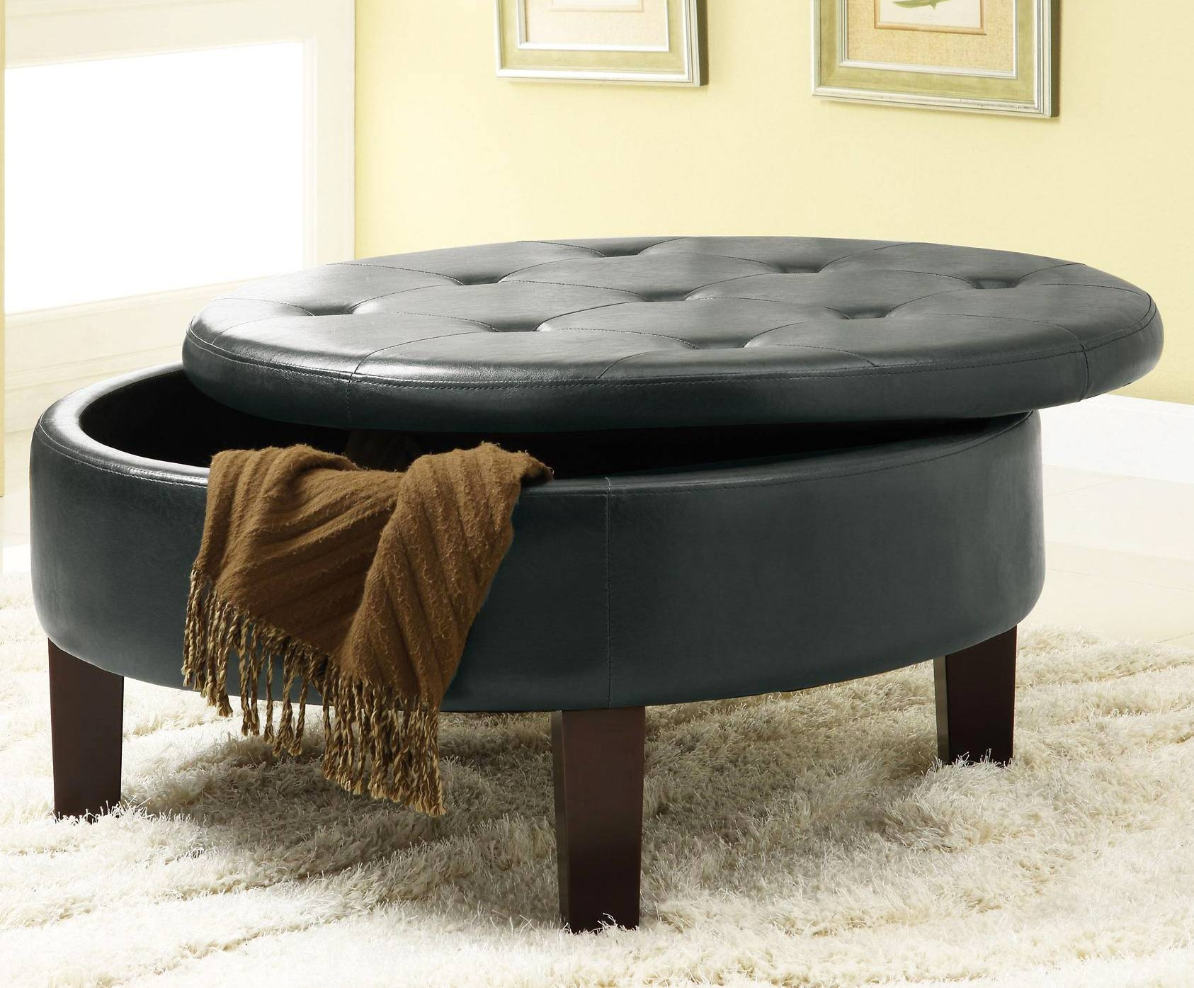 Tufted Coffee Table For Elegance, Creativity And Luxury | Roy Home Pertaining To Round Upholstered Coffee Tables (View 18 of 30)
