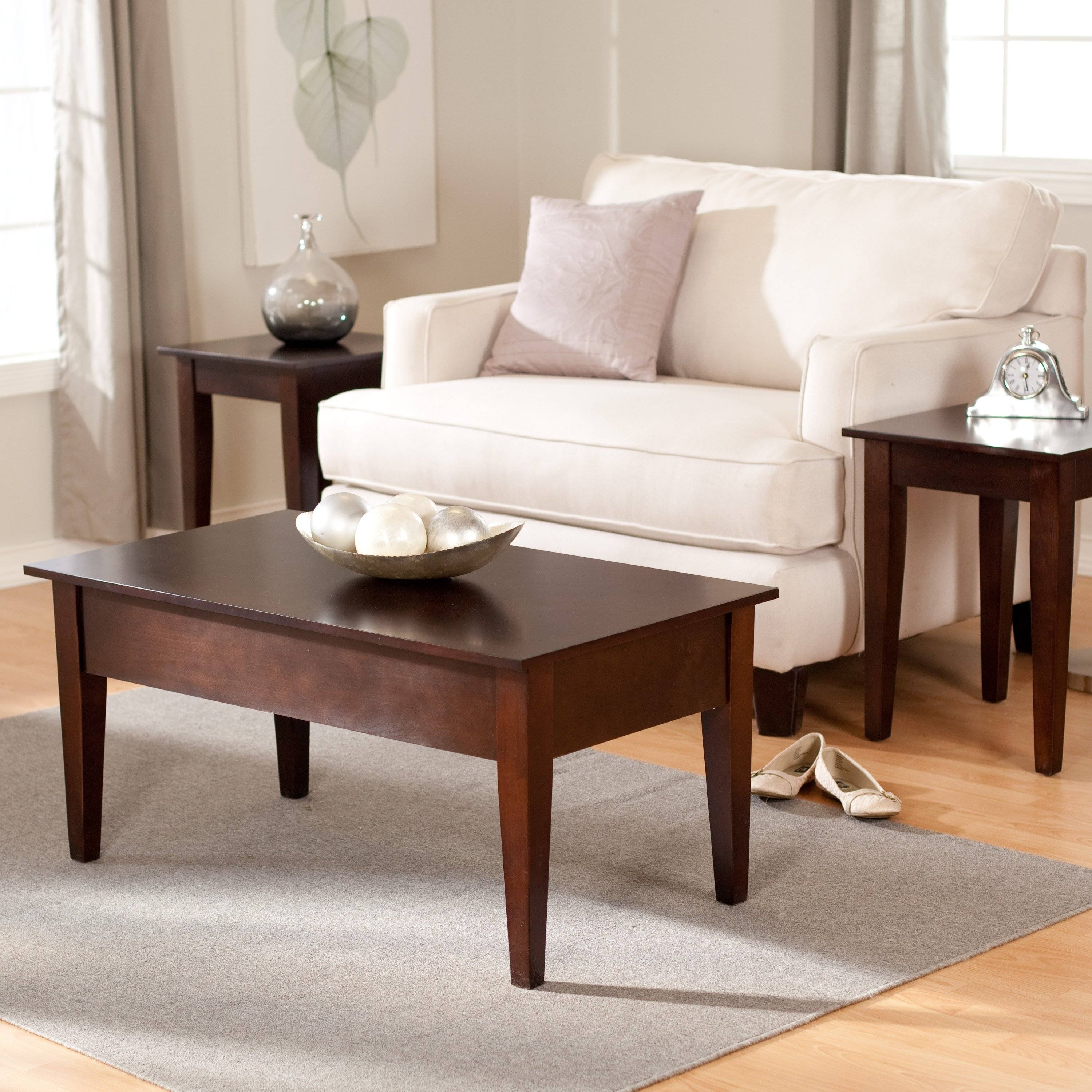 Turner Lift Top Coffee Table - Espresso | Hayneedle throughout Espresso Coffee Tables (Image 27 of 30)