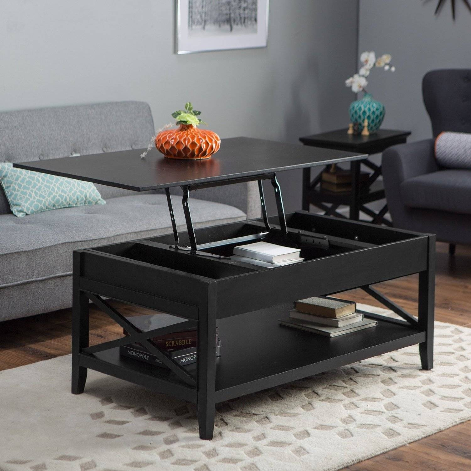 Turner Lift Top Coffee Table Espresso Tables At Hayneedle San with Top Lifting Coffee Tables (Image 30 of 30)