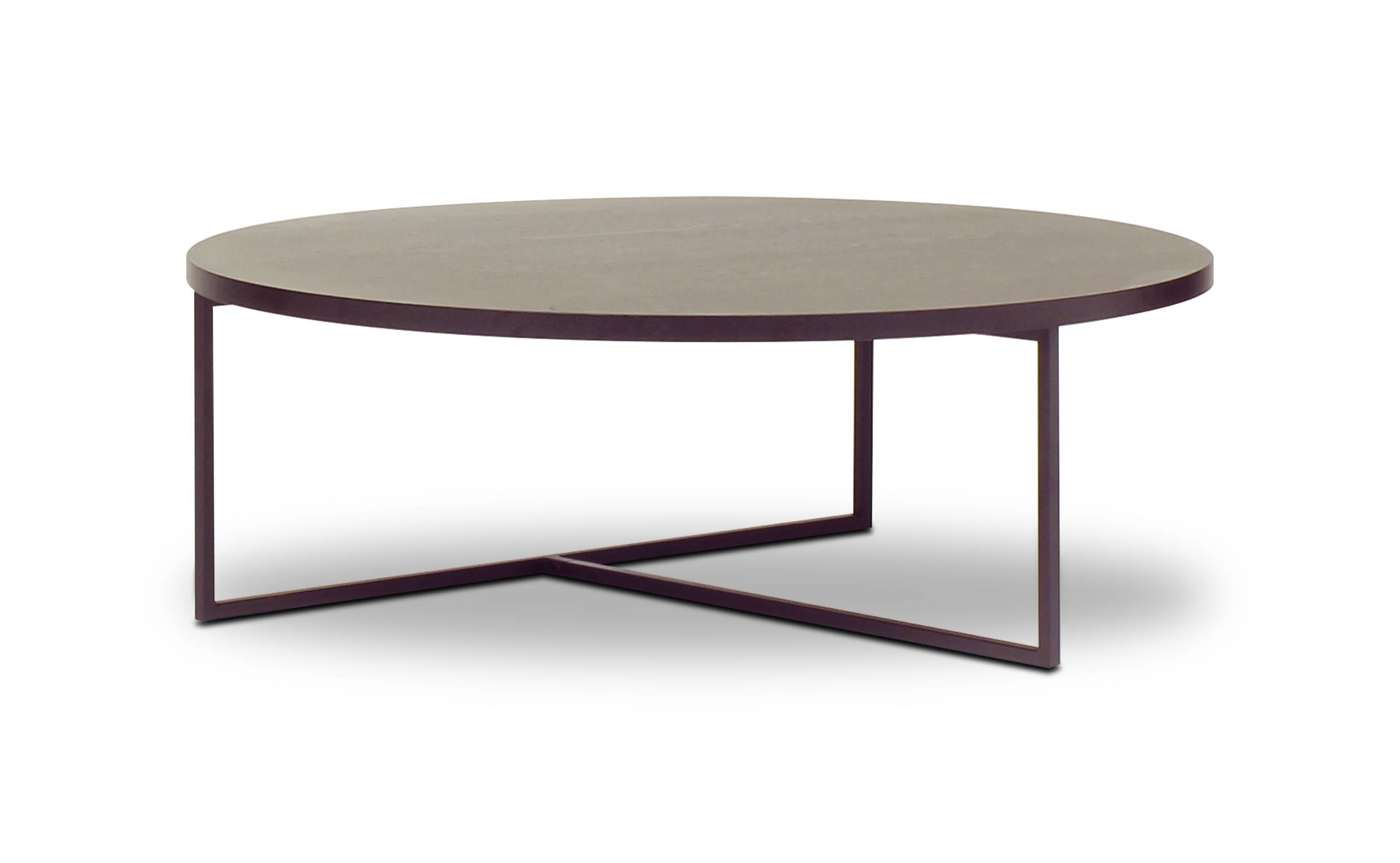 Turner Round - Coffee Table | Loungelovers intended for Black Circle Coffee Tables (Image 28 of 30)