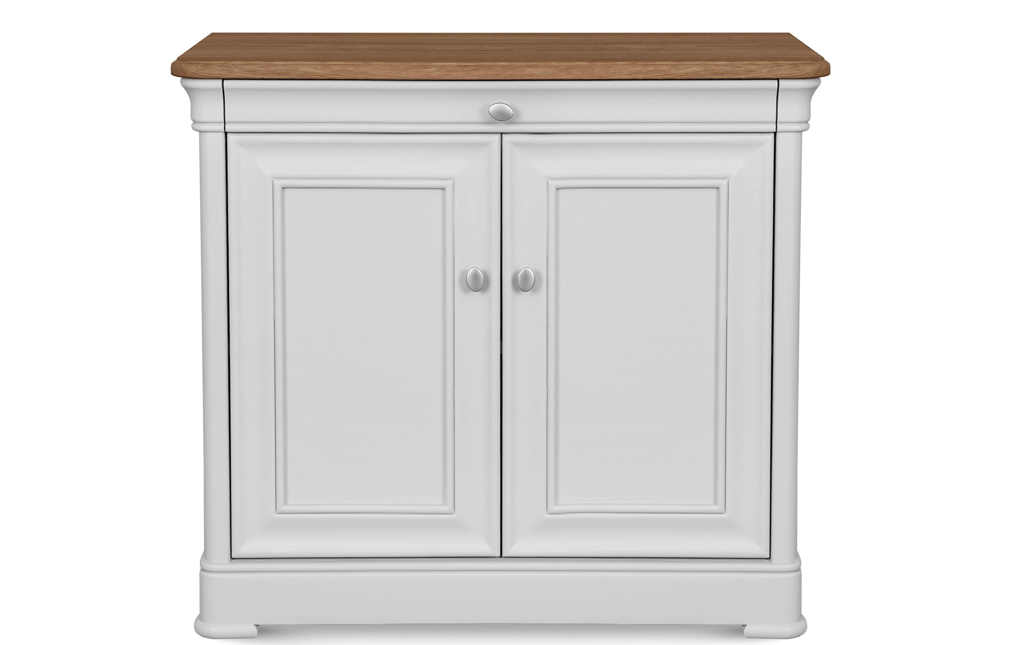 Tuscany Narrow Sideboard   Solid Oak with regard to Narrow Oak Sideboards (Image 28 of 30)