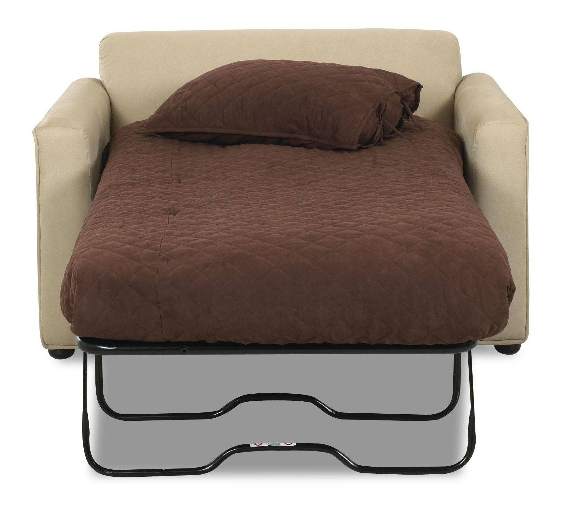 Twin Bed Chair - Gallery Image Vktop in Loveseat Twin Sleeper Sofas (Image 26 of 30)