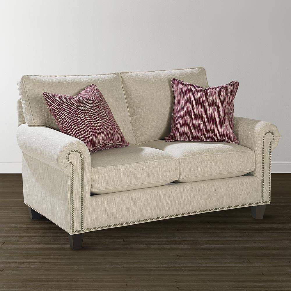 Twin Sleeper Sofa - Custom Upholstery | Bassett Furniture inside Twin Sofa Chairs (Image 28 of 30)