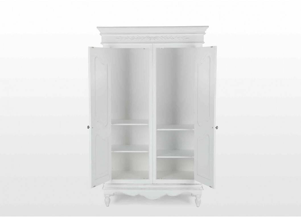 Two Door White Wardrobe - Romance with regard to Two Door White Wardrobes (Image 12 of 15)