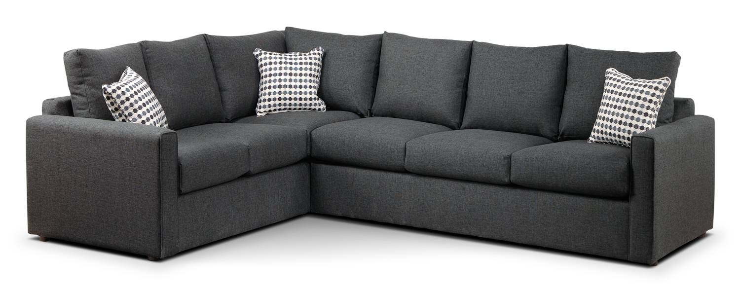 Two Piece Sectional Sofa Bed | Tehranmix Decoration regarding Sectional Sofa Beds (Image 28 of 30)