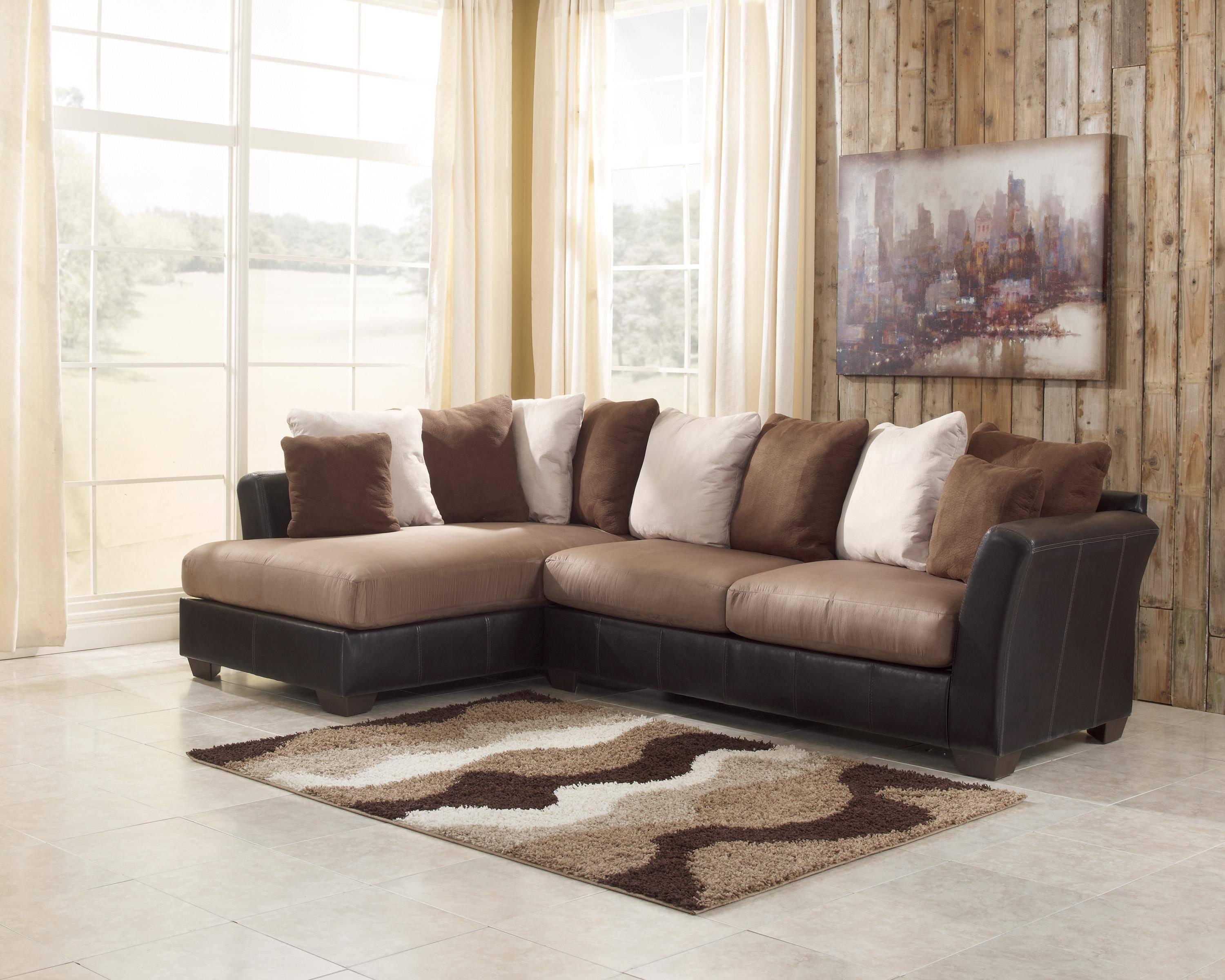 Two Piece Sectional Sofa With Chaise | Tehranmix Decoration Within Sectional Sofa With 2 Chaises (View 29 of 30)