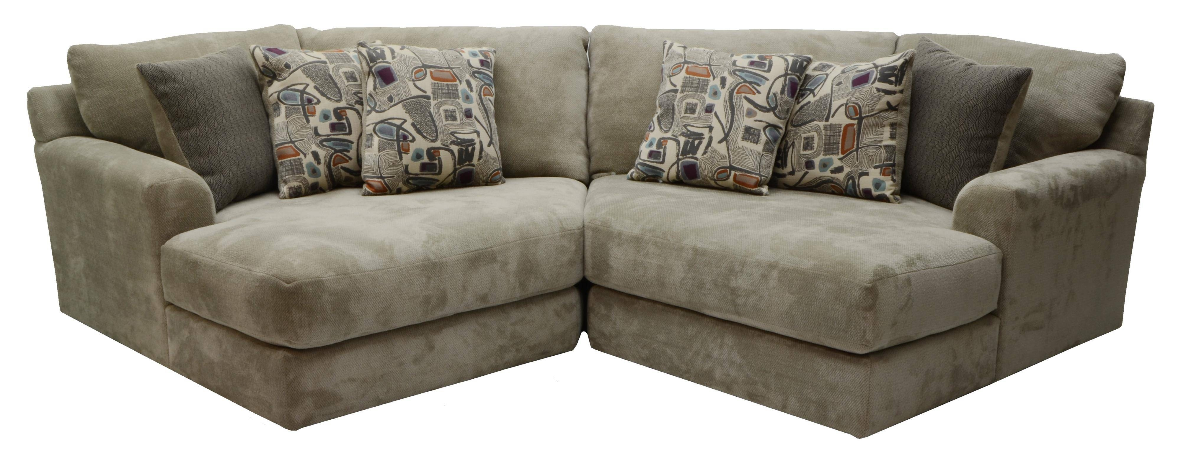 Two Seat Sectionaljackson Furniture | Wolf And Gardiner Wolf with 2 Seat Sectional Sofas (Image 29 of 30)
