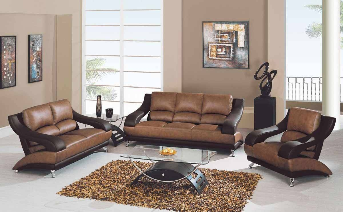 Two Tone Sofa 89 | Leather Sofas within Two Tone Sofas (Image 25 of 30)