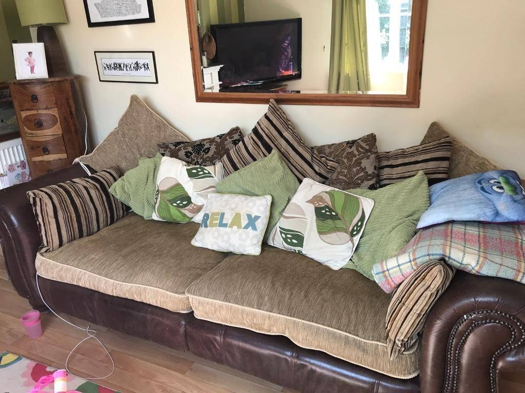 Two Very Large Sofas | In Lee-On-The-Solent, Hampshire | Gumtree for Very Large Sofas (Image 17 of 30)