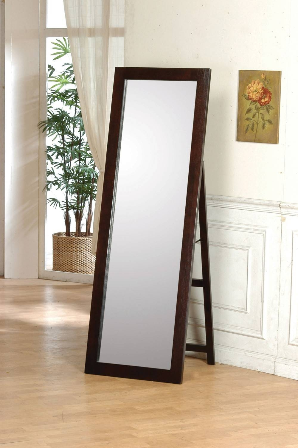 Types And Uses Of Floor Mirrors Within Silver Free Standing Mirrors (View 24 of 25)