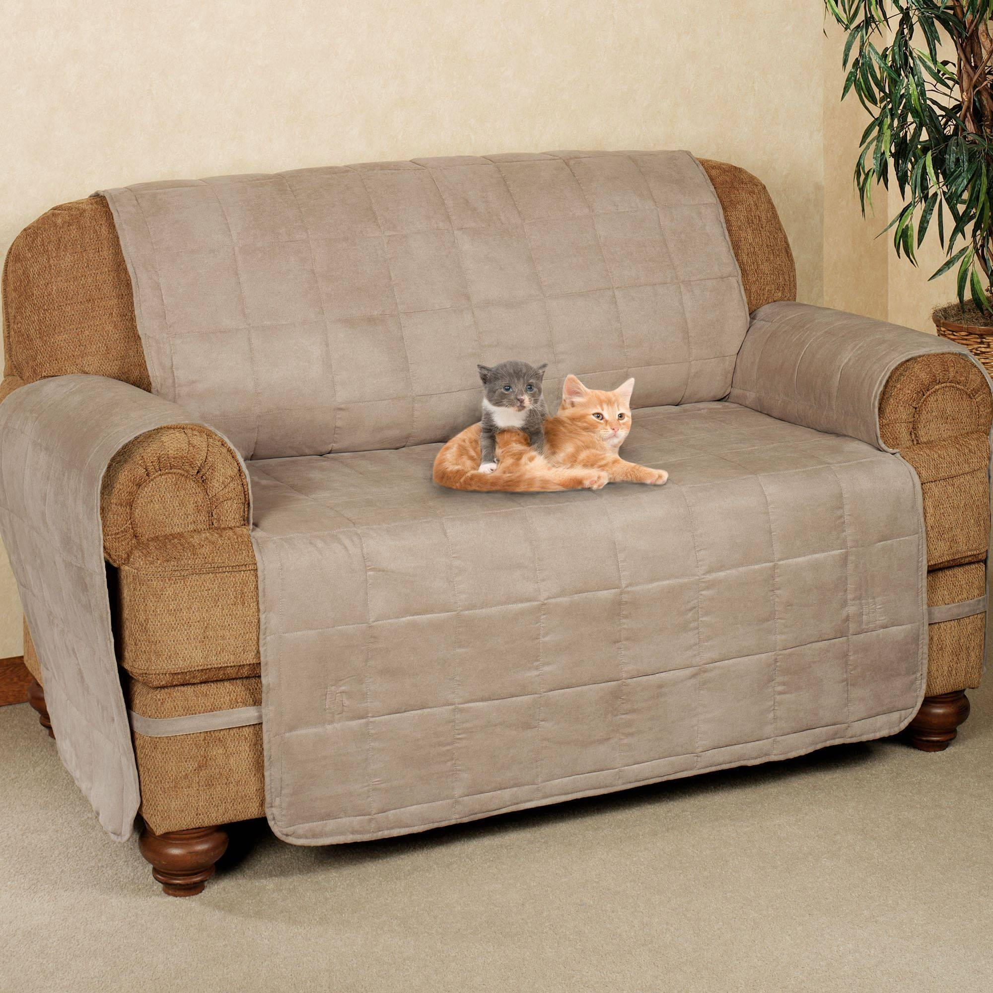 Ultimate Pet Furniture Protectors With Straps for Sofa Loveseat Slipcovers (Image 30 of 30)