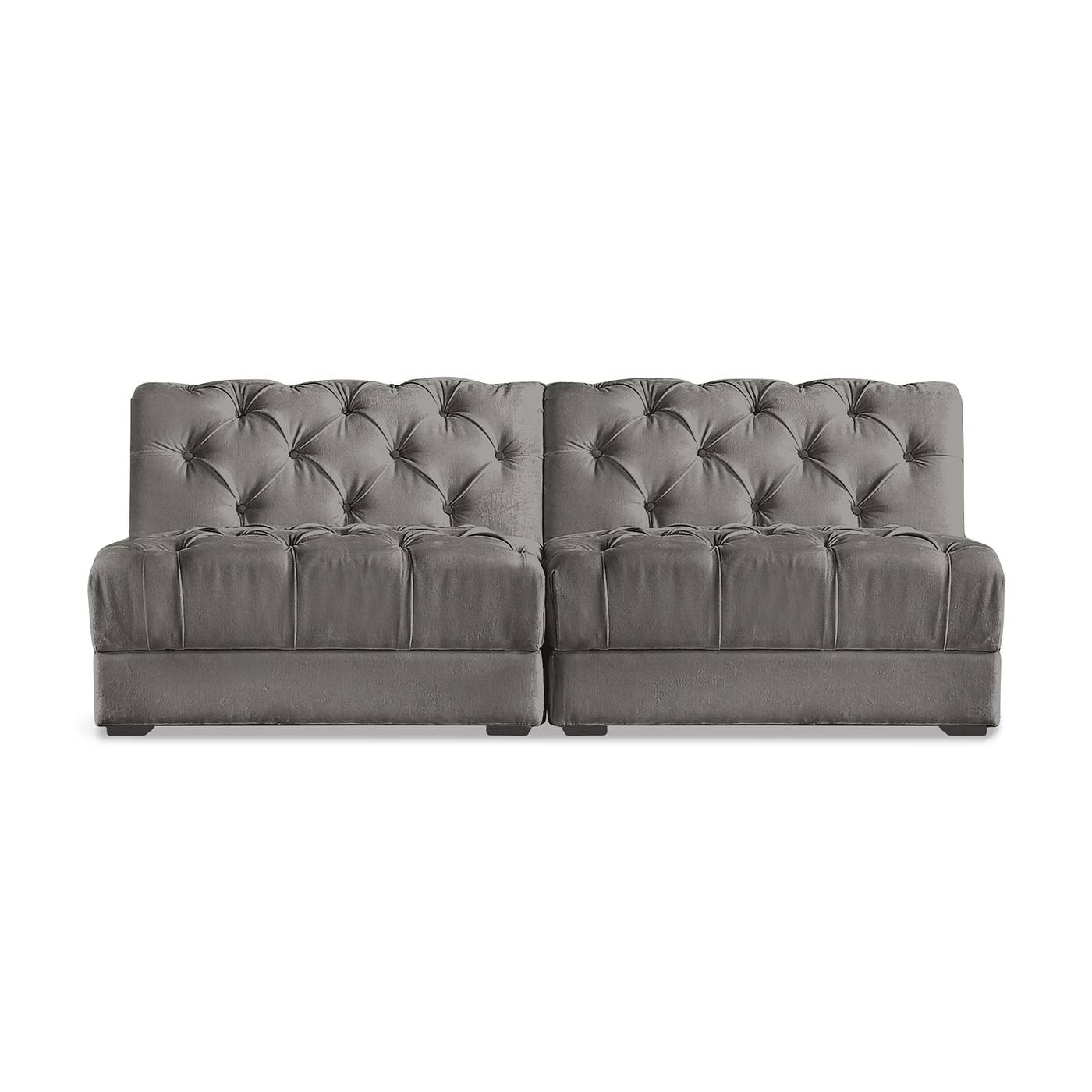 Ultra Sectional   Armless Piece | Modern Furniture | Jonathan Adler In Armless Sectional Sofas (Photo 30 of 30)