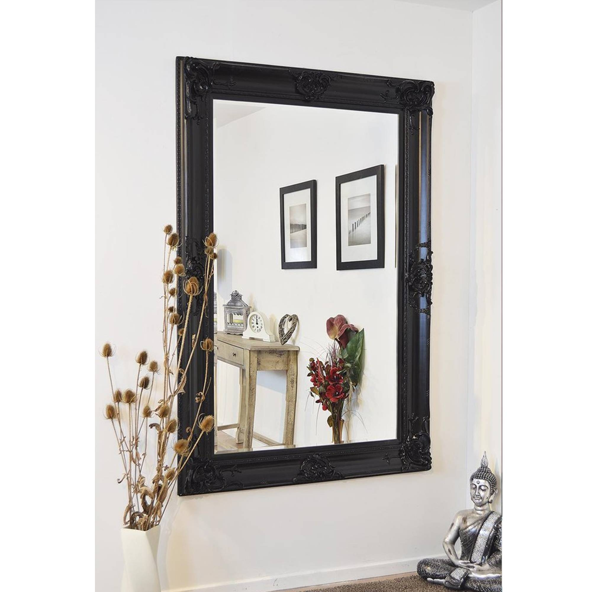 Uncategorized : Mirror Framed Wall Mirror Frameless Beveled Mirror intended for Fancy Wall Mirrors (Image 21 of 25)