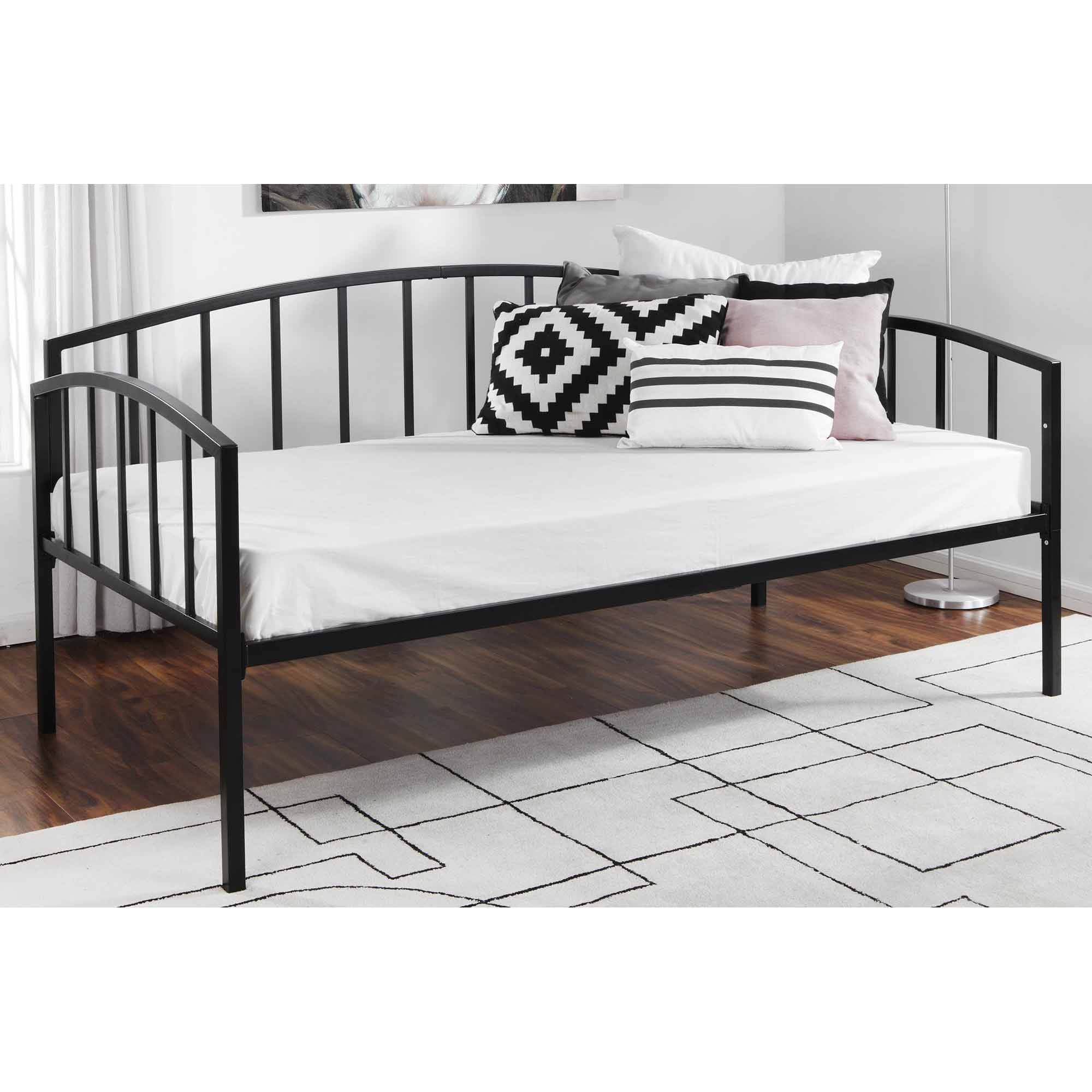 Uncategorized : Modern Iron Bed Sofa Daybed Contemporary Day Beds regarding Sofa Day Beds (Image 30 of 30)