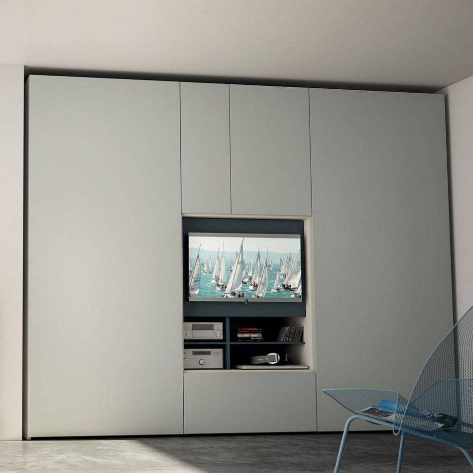 Uncategorized : Wardrobe Storage Tv Closet Modern Wardrobe Built for Built In Wardrobes With Tv Space (Image 29 of 30)