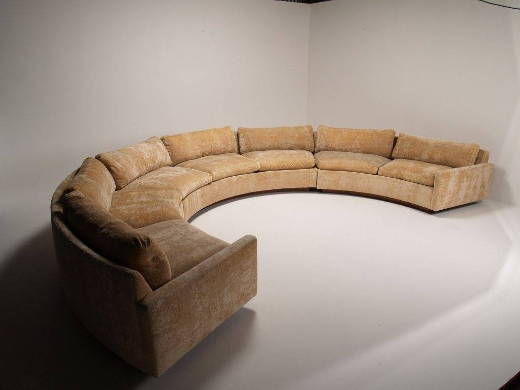Unique Circle Sectional Sofa For Elegant Room Decoration — Home with Circle Sectional Sofa (Image 30 of 30)