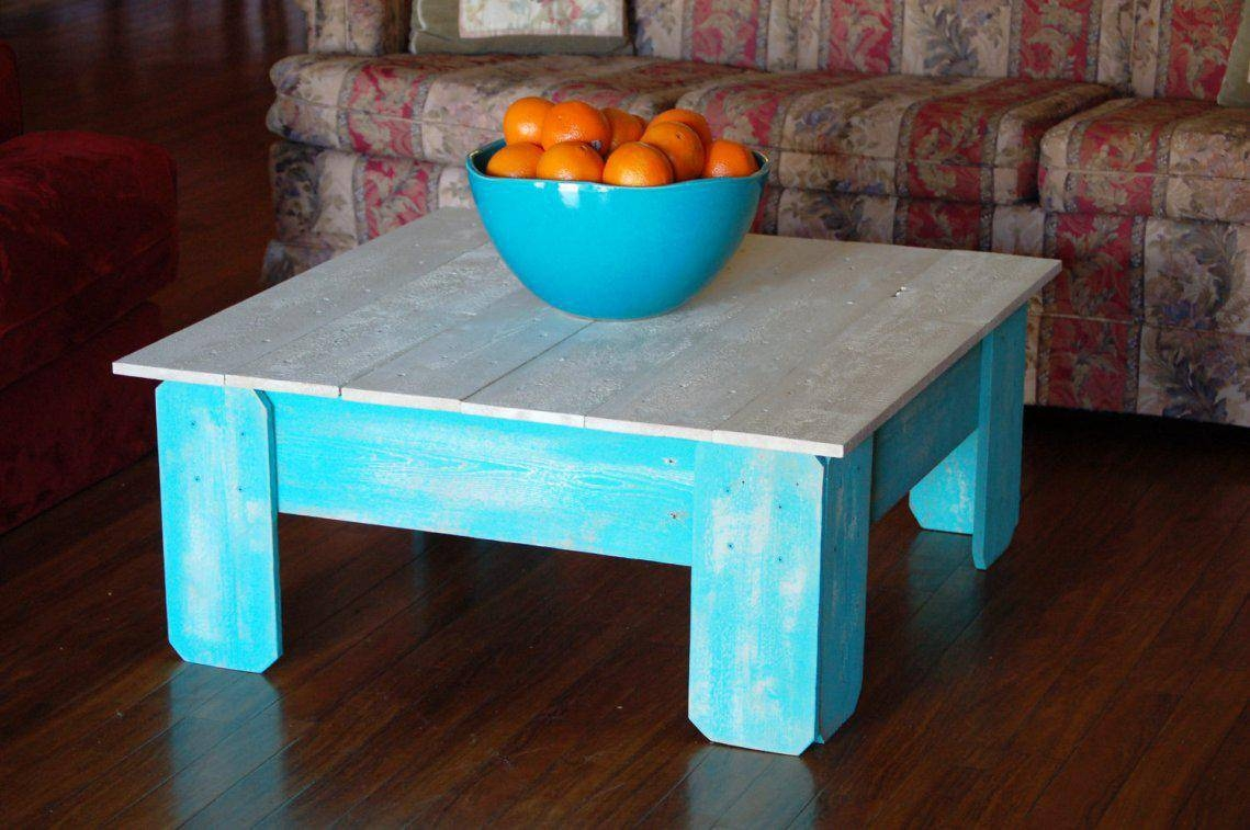 Unique Distressed Coffee Table Ideas for Blue Coffee Tables (Image 30 of 30)