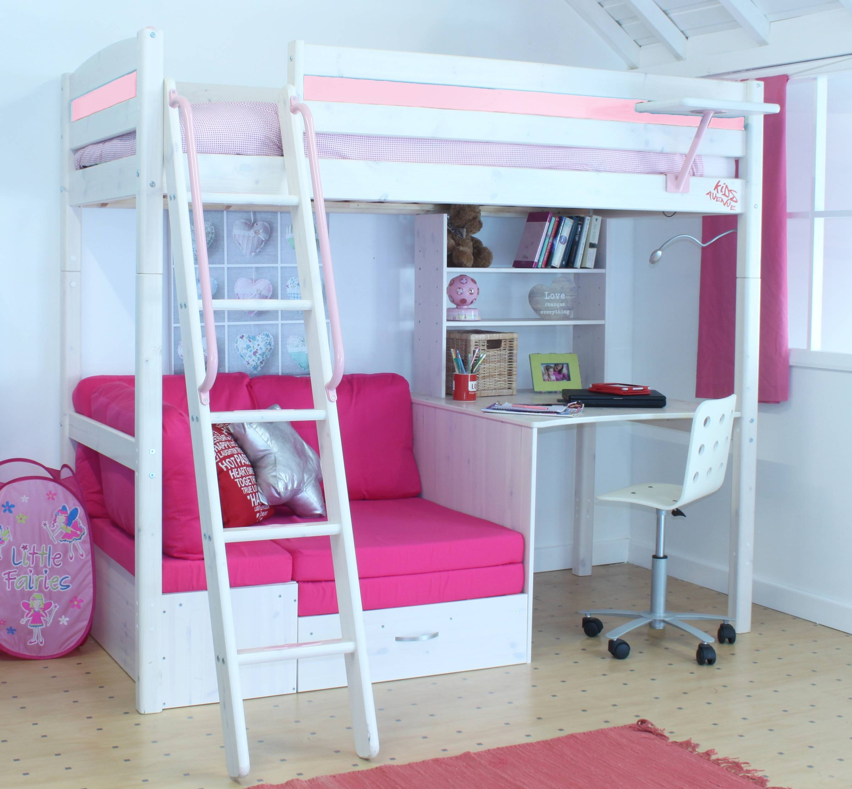 The Best High Sleeper With Desk And Sofa