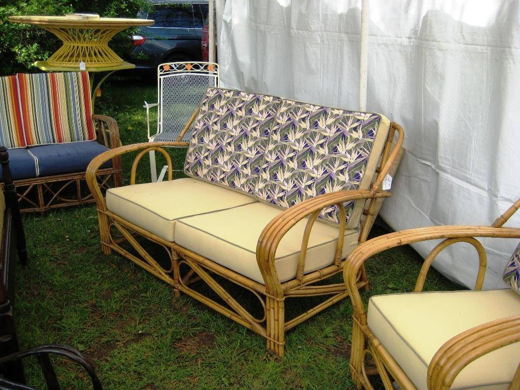 Unique Vintage Bamboo Furniture Styles with regard to Vintage Sofa Styles (Image 24 of 30)