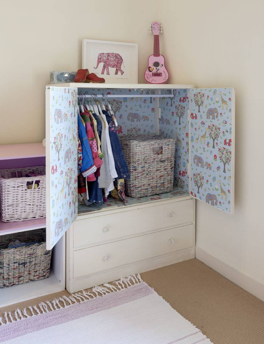 Upcycled Children's Wardrobe – £125 | Living With Daisy - Love in Childrens Tallboy Wardrobes (Image 12 of 15)