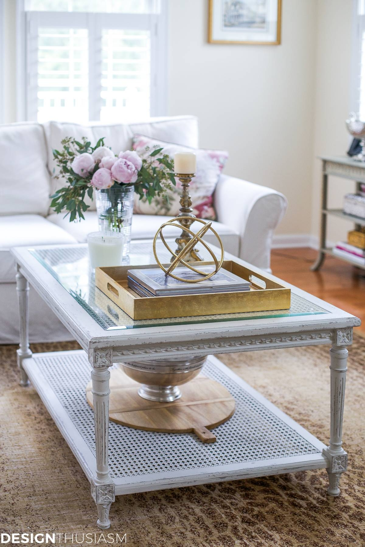 Updating The Family Room With A French Country Coffee Table regarding French Country Coffee Tables (Image 27 of 30)