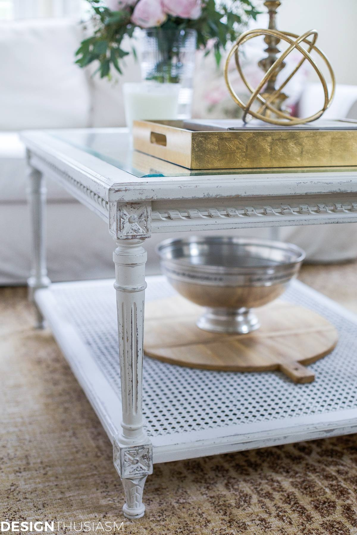 Updating The Family Room With A French Country Coffee Table within French Country Coffee Tables (Image 28 of 30)